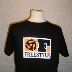 Freestyle Records T Shirt Black